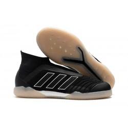 adidas PP Predator Tango 18+ IN Football Boots Black White