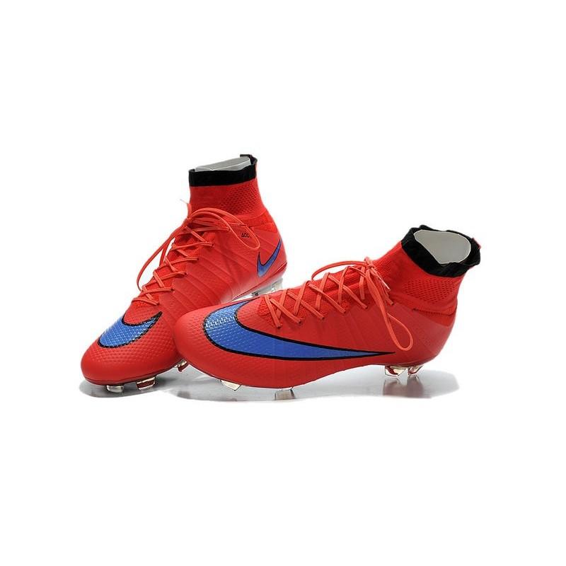 Cristiano Ronaldo Nike Mercurial Superfly 4 FG ACC Boots Red Purple