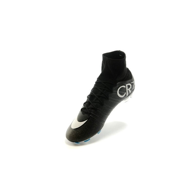 Cristiano Ronaldo Nike Mercurial Superfly 4 FG ACC CR7 Black Turquoise White