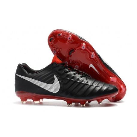Nike Tiempo Legend 7 FG Kangaroo Leather - Black Red White