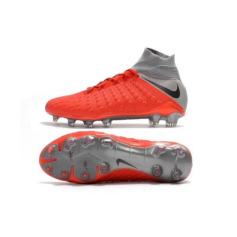 6754656ec Nike Hypervenom Phantom 3 FG ACC Cleats - Red Gray Maximize. Previous. Next