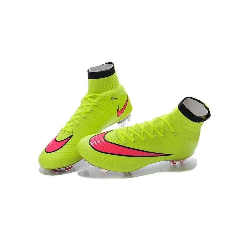 super popular 09065 69b74 New 2015 Nike Mercurial Superfly Iv FG Football Cleats Volt Hyper Punch