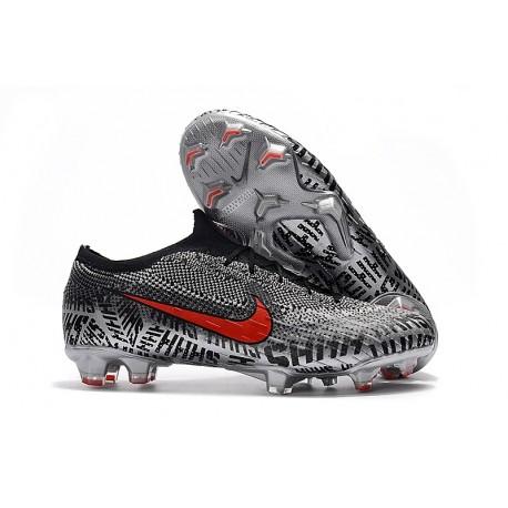 acde6216462 Nike Mercurial Vapor XII Elite FG Neymar Soccer Boot - Black White Red