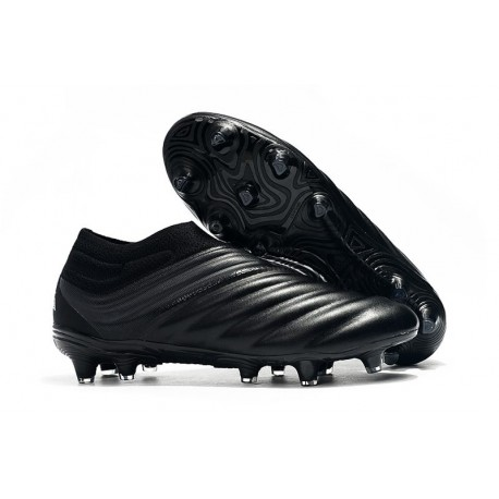 adidas Copa 19+ FG Firm Ground Soccer Cleats - All Black