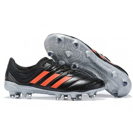 New Adidas Copa 19.1 FG Soccer Boots - Core Black Solar Red
