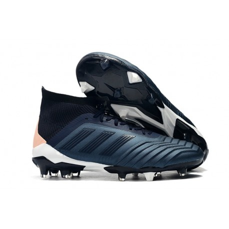 adidas Predator 18.1 Mens FG Football Boots Cyan Black