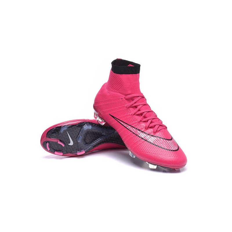 New 2015 Nike Mercurial Superfly 4 FG Football Cleats Hyper Pink