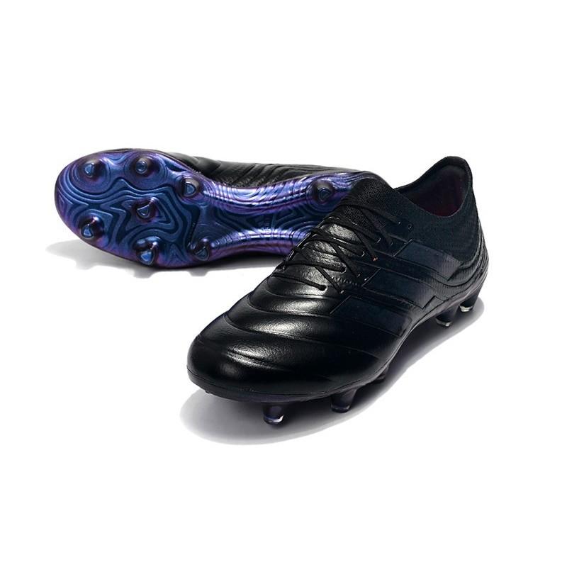 New Adidas Copa 19.1 FG Soccer Boots Black Blue