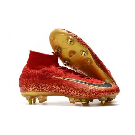 Cristiano Ronaldo Nike Mercurial Superfly VI Elite Anti-Clog SG-Pro Boots