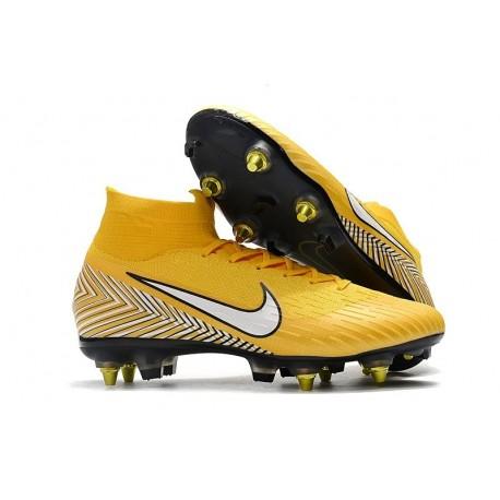 Neymar Nike Mercurial Superfly 6 Elite AC SG-Pro Cleats - Yellow