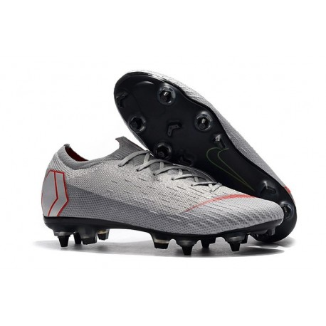 Nike Mercurial Vapor 12 Elite SG-Pro AC Grey Red
