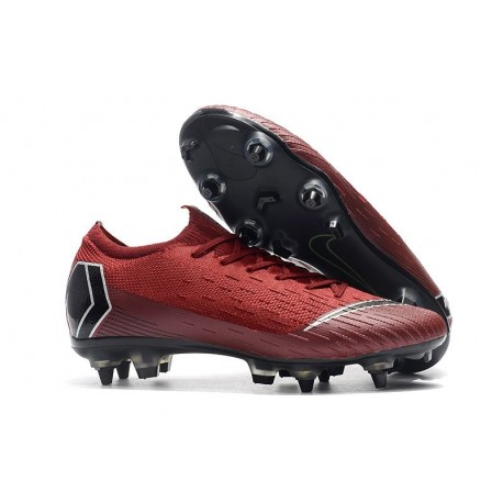 Nike Mercurial Vapor 12 Elite SG-Pro AC Red Black