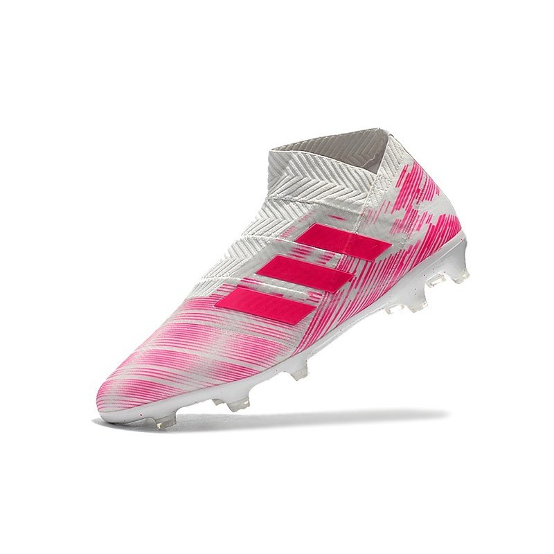 fe516294c New Adidas Nemeziz 18+ FG Soccer Boots - Pink White Maximize. Previous. Next