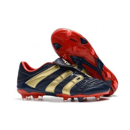 adidas Predator Accelerator Electricity FG Boot - Blue Gold Red