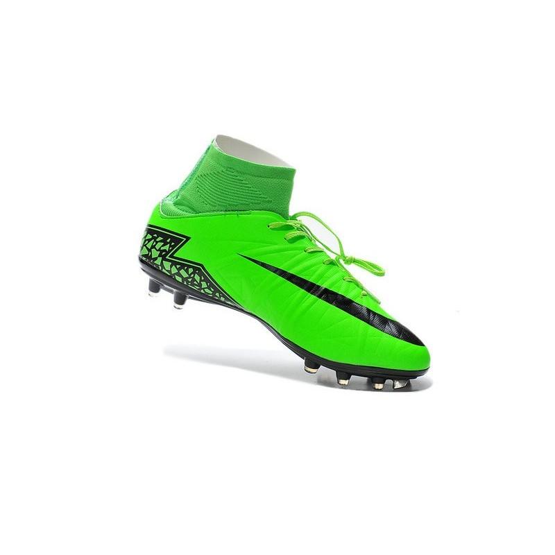 fa794ea23 New 2015 Soccer Cleats Nike Hypervenom Phantom II FG ACC Green Black  Maximize. Previous. Next