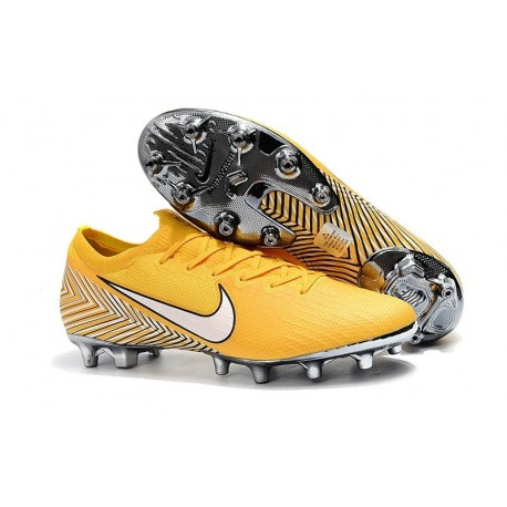 Neymar Nike Mercurial Vapor XII Elite AG-PRO Artificial-Grass Yellow