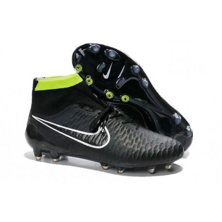 Top Nike Magista Obra FG ACC Mens Soccer Boots Black White