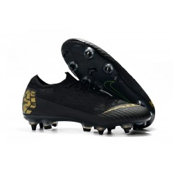 Nike Mercurial Vapor 12 Elite SG-Pro AC Black Gold