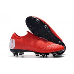Nike Mercurial Vapor 12 Elite SG-Pro AC Red White