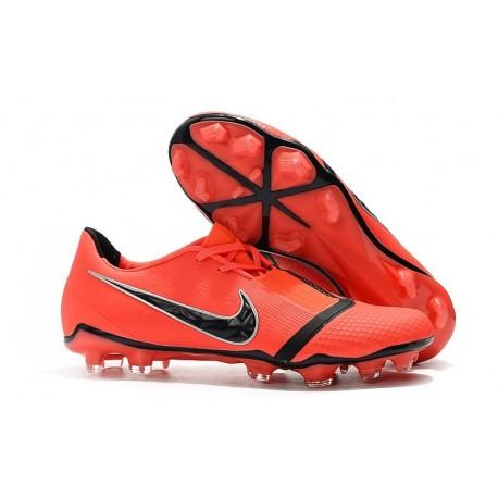 Nike Phantom VNM Elite FG Soccer Boots Bright Crimson Black