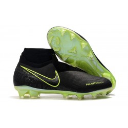 Nike Phantom Vision Elite DF FG 2019 Cleats Black Volt