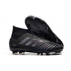 adidas Predator 19.1 FG Soccer Cleat Black