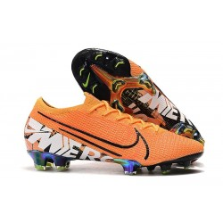 Nike Mercurial Vapor XIII Elite FG Soccer Boots Orange White