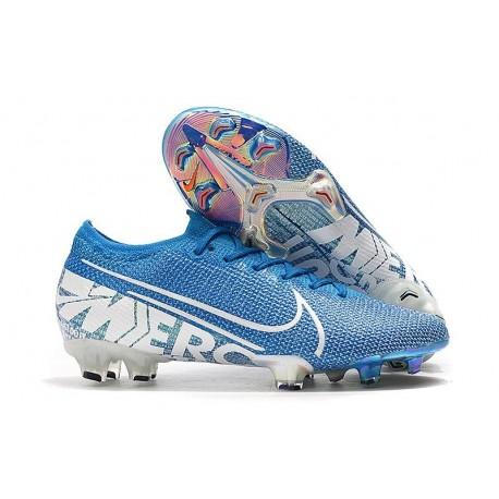 Nike Mercurial Vapor XIII Elite FG Soccer Boots Blue Hero/White