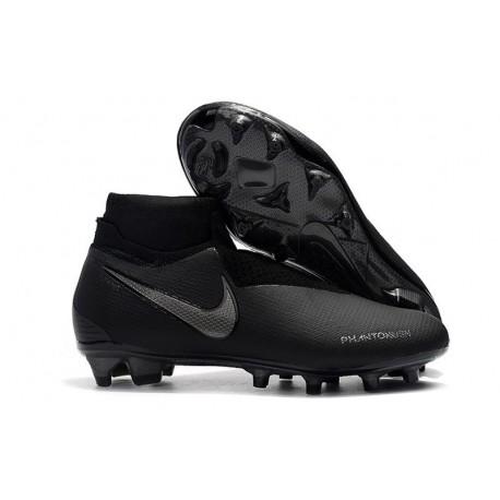 Nike Phantom Vision Elite DF Firm Ground Cleats All Black