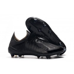adidas X 19.1 FG Soccer Cleats - Full Black