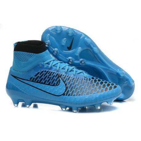Nike New Men Football Shoes Magista Obra FG ACC Turquoise Blue Black