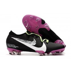 Nike Mercurial Vapor 13 Elite FG Black Purple White Silver