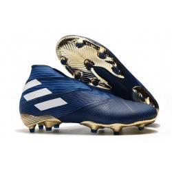 adidas Nemeziz 19+ FG Soccer Cleats Blue White