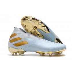 adidas Nemeziz 19+ FG News Boot Bold Aqua Gold