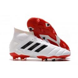 adidas Predator Mania 19.1 FG ADV Soccer Cleat White Core Black