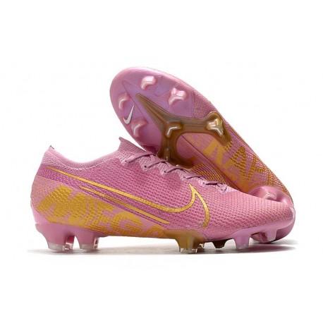 Nike Mercurial Vapor 13 Elite FG New Cleats Pink Gold