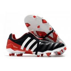 New adidas Predator MANIA FG Soccer Cleat New adidas Predator MANIA FG Soccer Cleat Black Red White