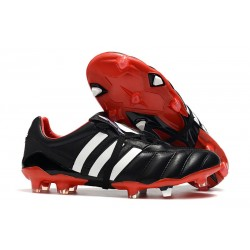 New adidas Predator MANIA FG Soccer Cleat Black White Red