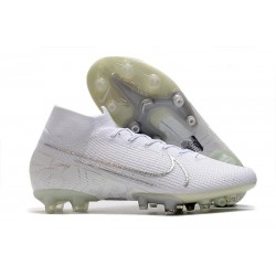 Nike Mercurial Superfly 7 Elite SE AG White Silver
