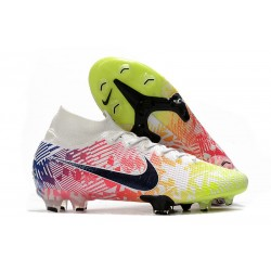 Nike Mercurial Superfly 7 Elite FG ACC Neymar White Black Racer Blue Volt