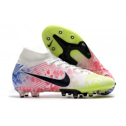 Nike Mercurial Superfly 7 Elite SE AG Neymar White Black Racer Blue Volt