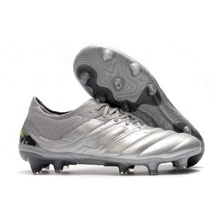 New Adidas Copa 19.1 FG Soccer Boots -Silver Solar Yellow