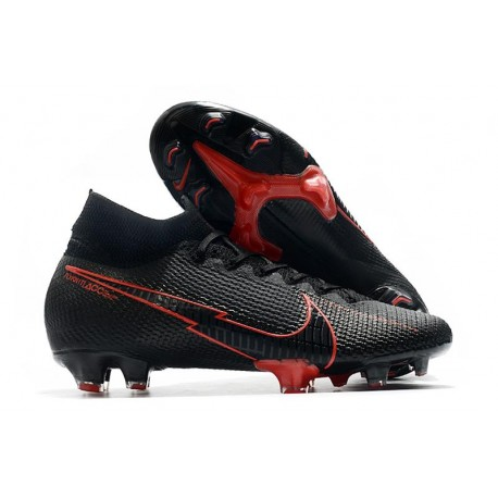 Nike Mercurial Superfly 7 Elite FG ACC Black Red