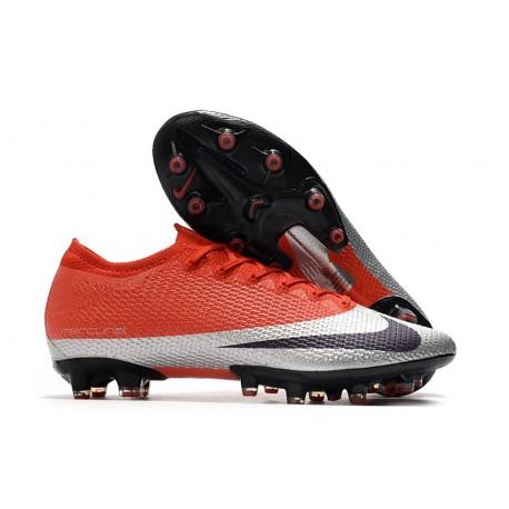 Nike Mercurial Vapor 13 Elite AG Boots Red Silver Black