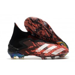 adidas Predator Mutator 20+ FG Firm Ground Core Black White Active Red
