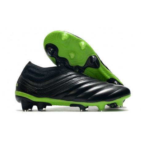 adidas Copa 20+ FG Dark Motion - Core Black Signal Green