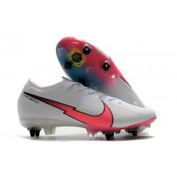 Nike Mercurial Vapor 13 Elite SG Anti-Clog White Crimson Blue