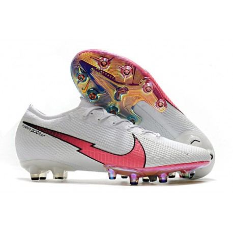 Nike Mercurial Vapor 13 Elite AG Boots White Crimson Blue