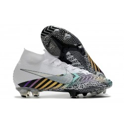 Nike 2020 News Mercurial Superfly VII Elite FG MDS 003 White Black Silver