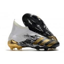 adidas Predator Mutator 20+ FG Inflight - White Gold Metallic Black